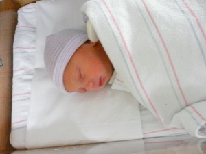 Introducing Brooklyn Welsh, born November 1, 2008, daughter of my little brother, Daniel & Tricia Welsh.""